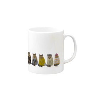Washiemon and Ai-chan's ShopのAi-chan's Fashion Show Mugs