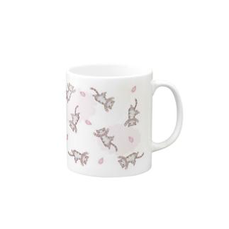 シンクの桜吹雪 Mugs