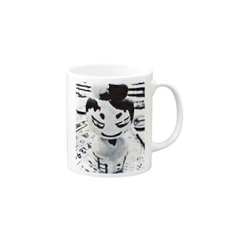 NKこけし Mugs