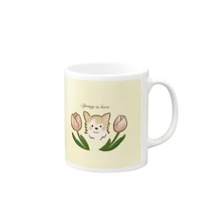 春だね! Mugs
