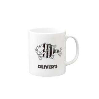 Oliver's Fish 石鯛 マグカップ