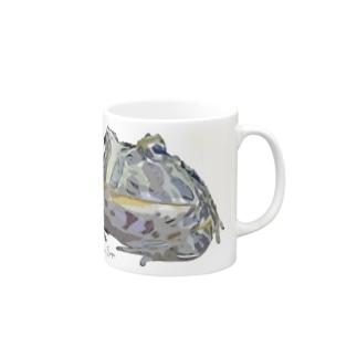 ベルツノガエル Mugs