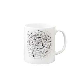 破壊痕 Mugs