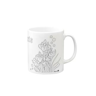 カキツバタ Mug