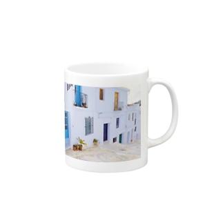白い街フリヒリアナ Mugs