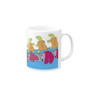 ハートメイカー・ポンピ Mugs