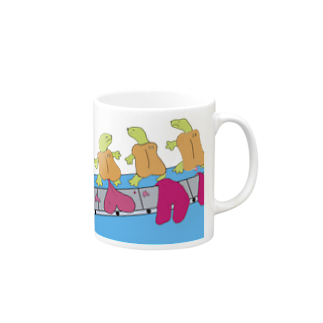 樹クリエイションのハートメイカー・ポンピ Mugs