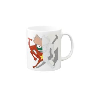 ギャイギャイ Mugs