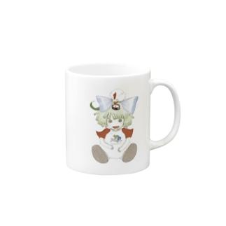 コンパス人形 Mugs