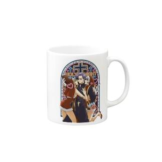 HOLY ♰ NIGHT Mugs