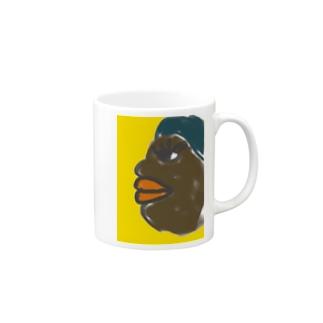 African Beauty  マグカップ
