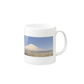 龍雲 と影で双龍の奇跡の写真《霊峰富士 &龍雲》 Mug