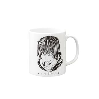 かなへびマグB Mugs