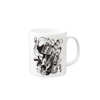 【ROCKOLOID SAULUS】type-BASS Mugs