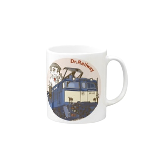 鉄道博士 EF63 Mugs