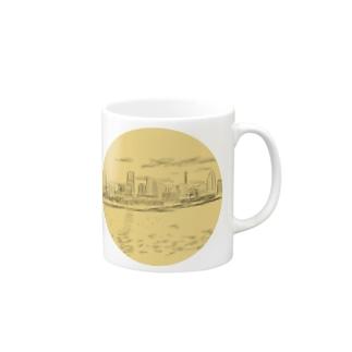 落書き、マグカップ Mugs