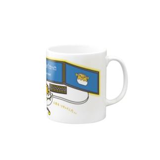 【ぐでたまYouTubeグッズ】マグカップA Mugs