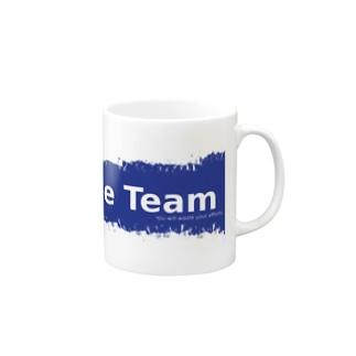 Blue Team Mug