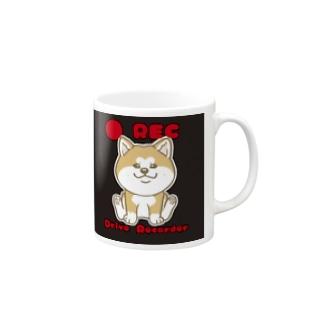 Rec秋田犬 Mugs