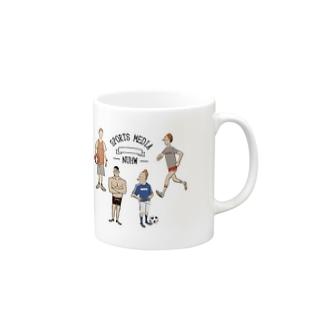 sports mag Mugs