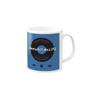 NO MUSIC NO LIFE  Mugs