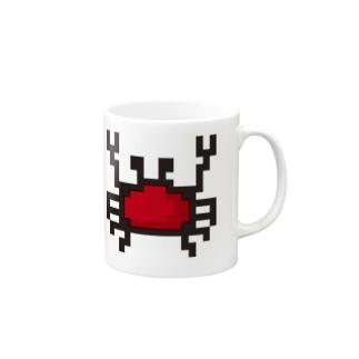 カニアイコン Mugs