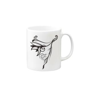 【Idis Lilie】イディスの羽 デザインTシャツ Mugs