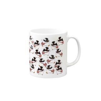 ヤママユ(ヤママユ・ペンギイナ)のふえるプピゴン Mugs