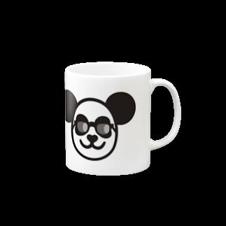 パンダ嫁ちゃんのマグカップ マグカップ