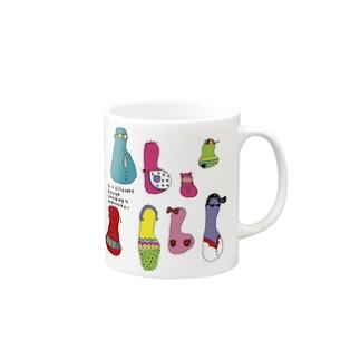 パプスカファミリー Mugs