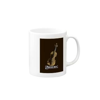 アートバイオリン Mugs