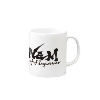 #NEM  Black マグカップ