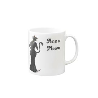 Anna Meow Mugs