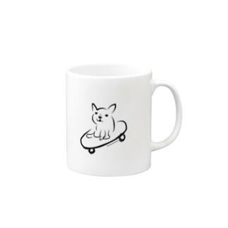 スケボーフレブル Mugs