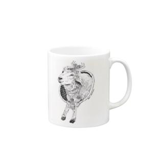 羊せかいを越えて Mugs