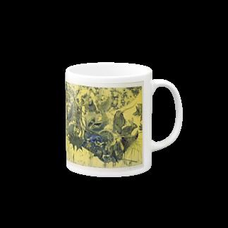 ここだけの銅版画SHOPの動物達~銅版画シリーズ1 Mugs