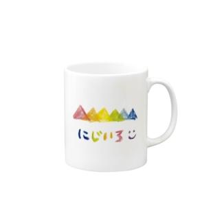 虹色 Mugs