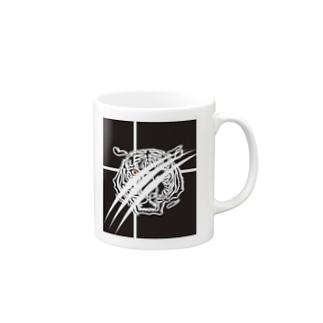 black_tiger_mag Mugs