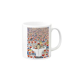 ハートノウミニダ マグカップ