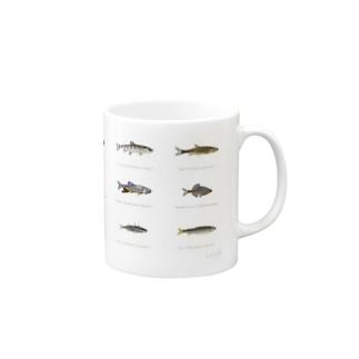 Japanese-Fish Mugs