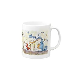 ドラネット Mugs