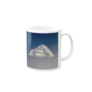 FUN WAVE マグカップ