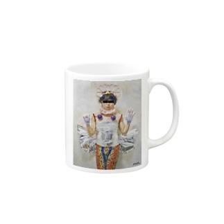 お姫様(絵画調) Mugs