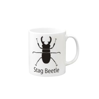 クワガタ Mugs
