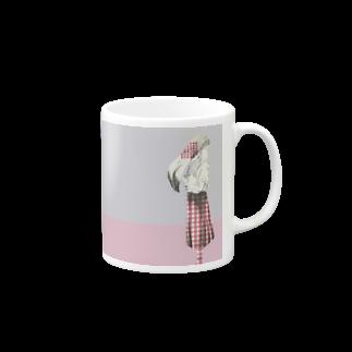 松野和貴の化けの皮マグーフラミンゴー Mugs