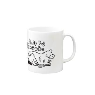 (保護犬支援)Fluufy Dog Mugs
