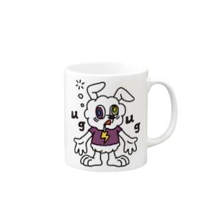 JUNKIE GREY【White】  Mugs
