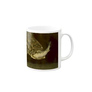 シュールレアリスムな捕食するライギョ Mugs