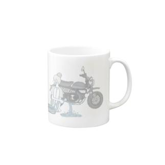夏の気配 透明 モンキー125 Mugs