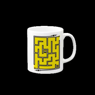 LINOS-Tの迷路 マグカップ